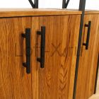 """Шкаф-стеллаж в стиле лофт - """"Givera"""""""