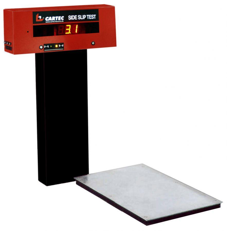SSP 4000 Платформа тестера увода для дооснащения универсального тормозного стенда