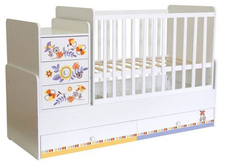 Кроватка детская Polini kids Simple 1100