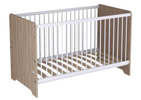 Кроватка детская Polini kids Simple Nordic 140х70 см, вяз