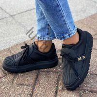 Кеды Dior-ID черные кожаные купить в интернет магазине люкстут