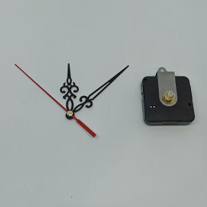 `Часовой механизм, шток 16 мм, со стрелками №20