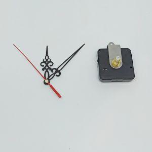 `Часовой механизм, шток 21 мм, со стрелками №01