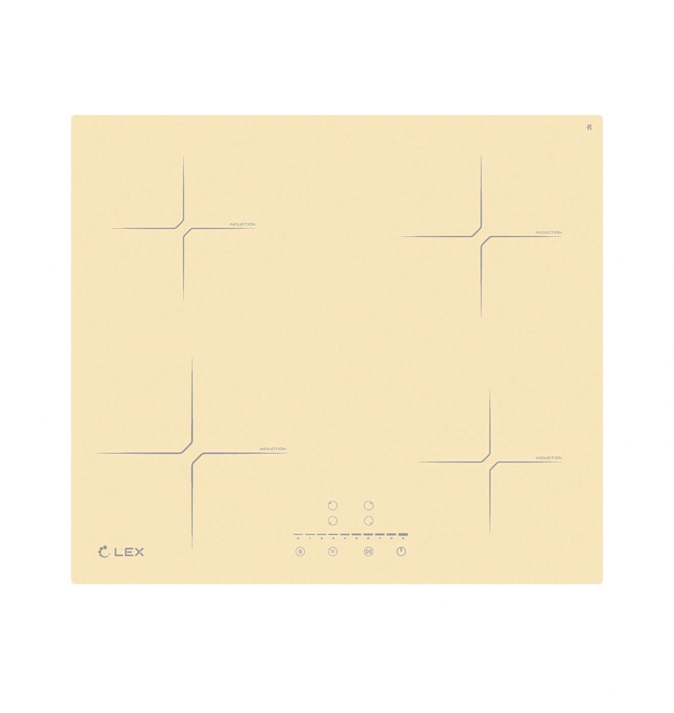 Индукционная варочная панель LEX EVI 640-2 IV CHYO000203