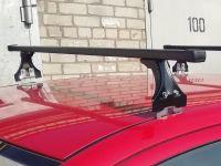 Багажник на крышу Opel Meriva A 2003-10, Delta, стальные прямоугольные дуги