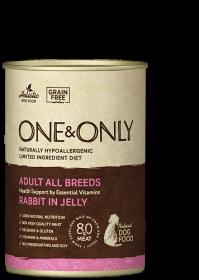 OneOnly Влажный корм из мяса кролика, 400 гр
