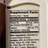 Кальций 1000 мг с витамином D3, 21st Century, 90 таблеток
