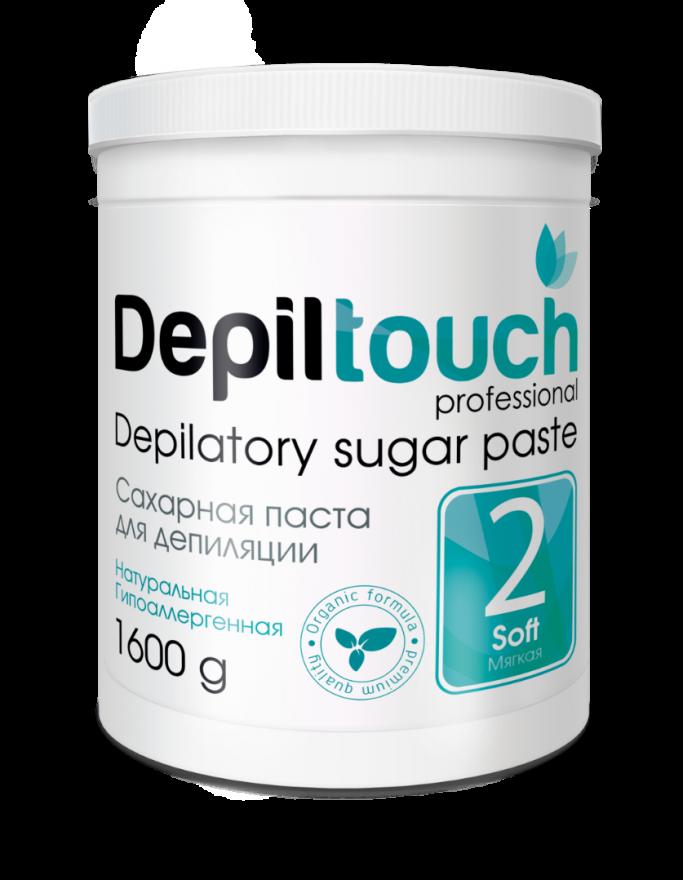 Сахарная паста Depiltouch Professional мягкая 1600 гр