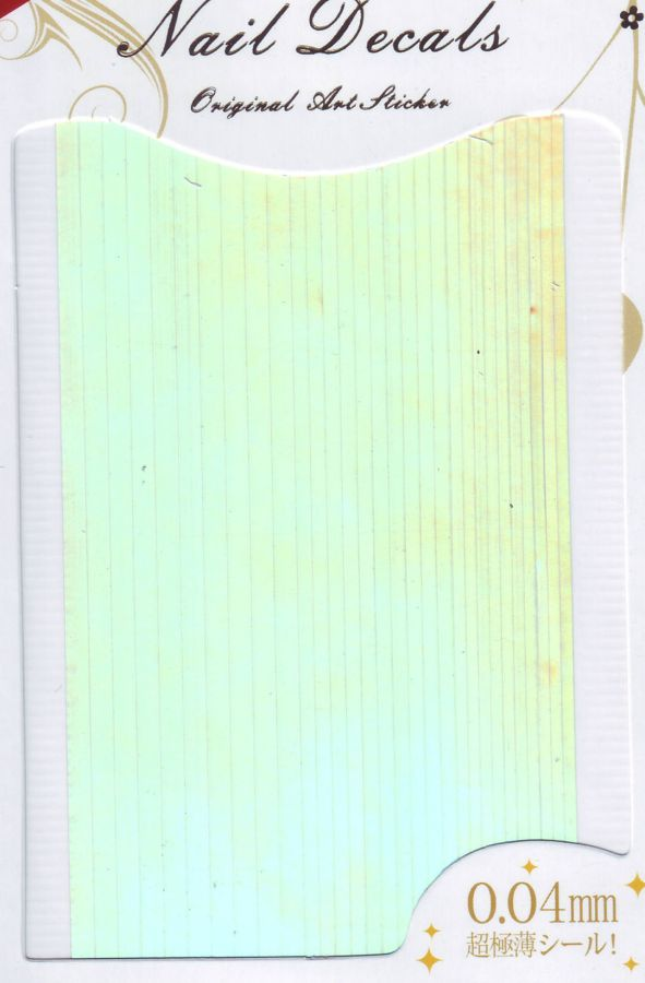 3D металлические наклейки полосы СЕРЕБРО толщина 0,04 мм, ширина от 1,5 до 3 мм