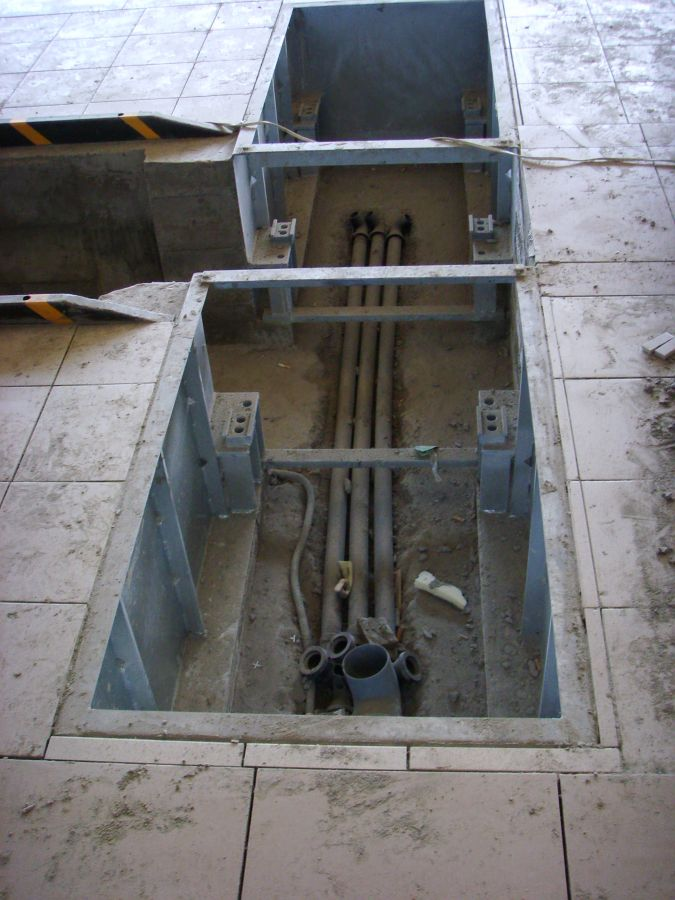 T2000603627 Комплект фундаментных рам на яму для BDE 3504 13t