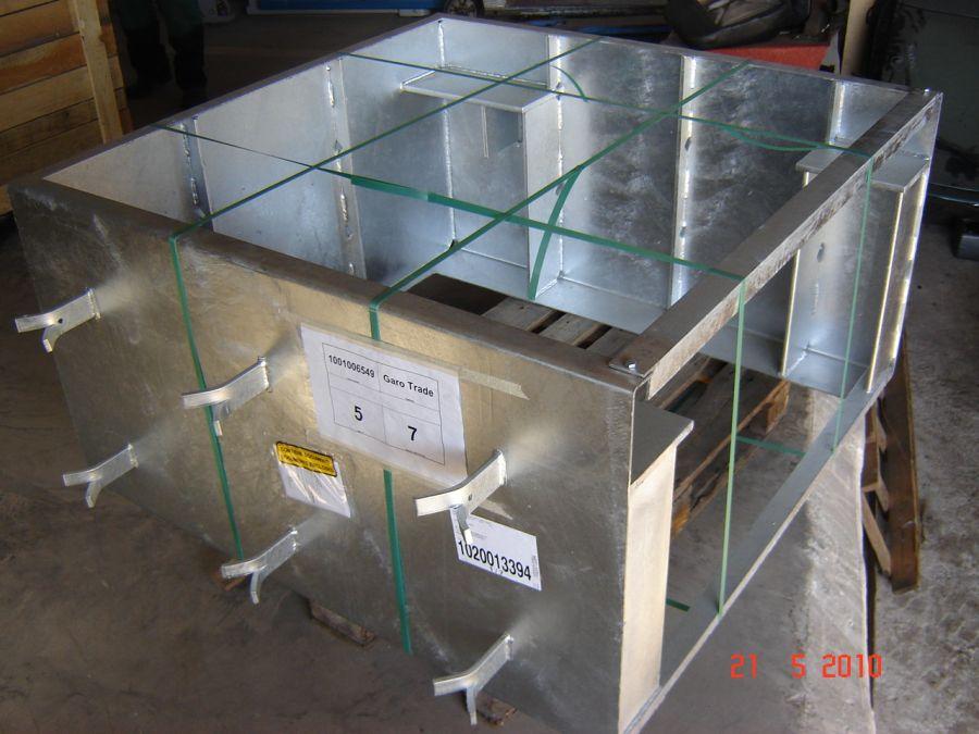 T2000618560 Комплект фундаментных рам на яму для BDE 4504 16/20t