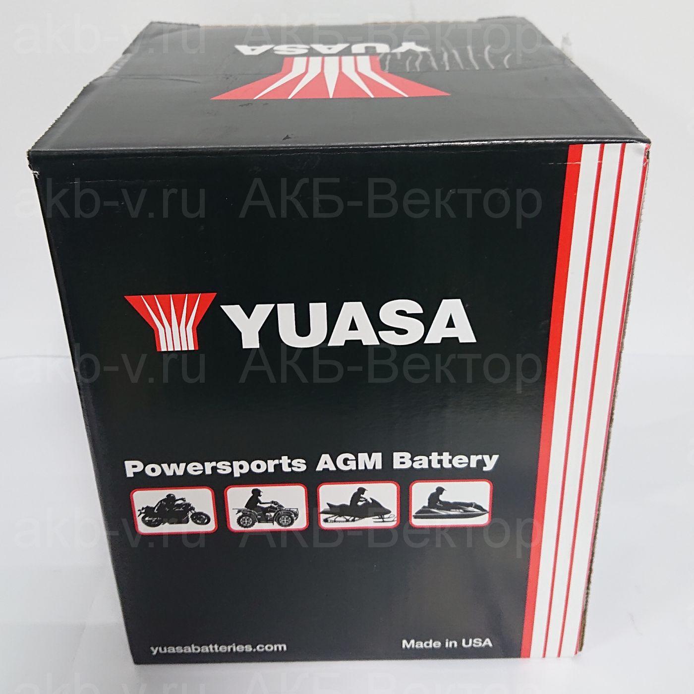 YUASA AGM PREMIUM  YIX30L-BS (30Ач) (AGM)