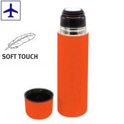 термосы с soft touch покрытием