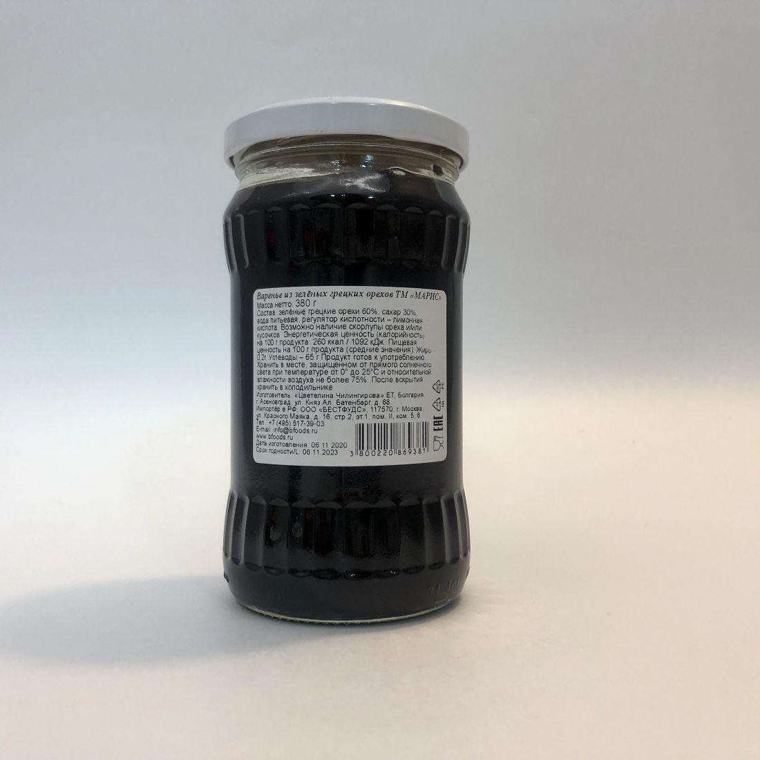 Варенье из зеленых грецких орехов - 380 гр