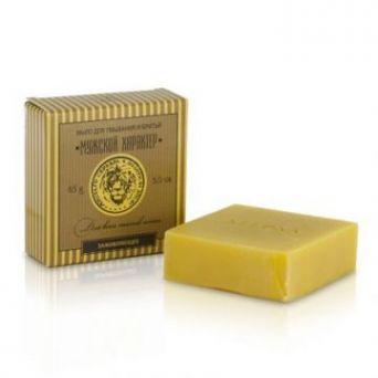 Клеона - Мыло для умывания и бритья «Мужской характер» для всех типов кожи заживляющее с маслом алтайской облепихи 85 гр