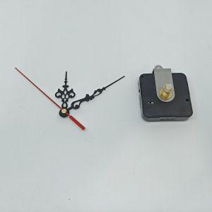 Часовой механизм, шток 21 мм, со стрелками №15 (1уп = 5шт)