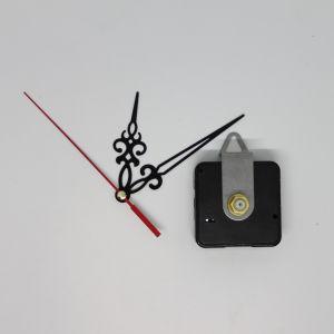Часовой механизм, шток 16 мм, со стрелками №01 (1уп = 5шт)