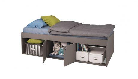 Кровать детская Polini kids Simple 3000 Н с нишами
