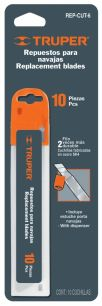 Запасные лезвия для ножа cut-6, ширина лезвия 18мм. REP-CUT-6
