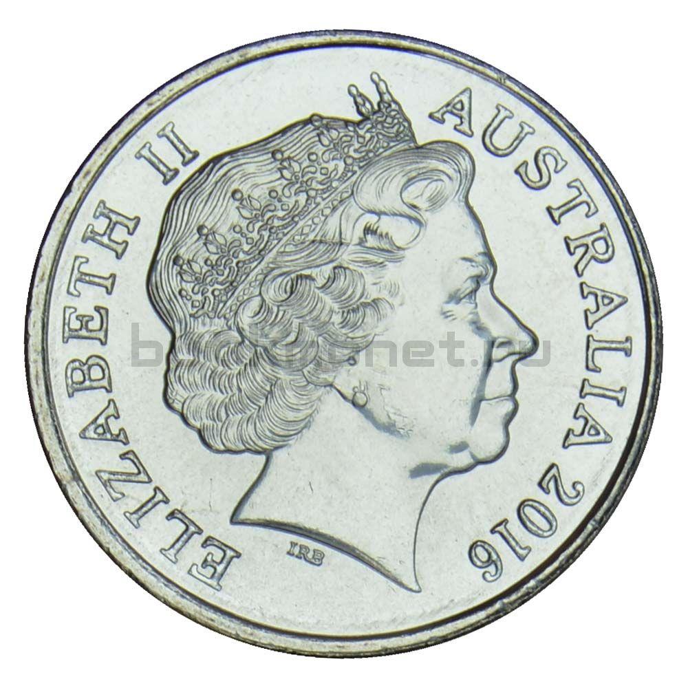 5 центов 2016 Австралия