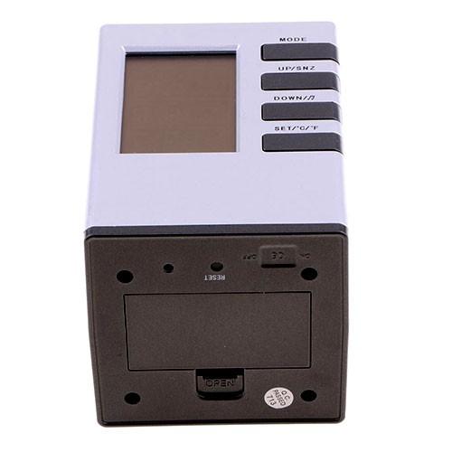 Настольные часы-органайзер для письменных принадлежностей Cube Desk Stand