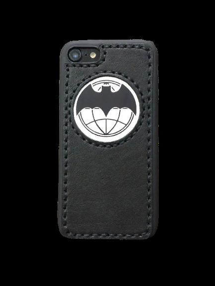 Кожаный чехол-накладка «Военная Разведка» на iPhone