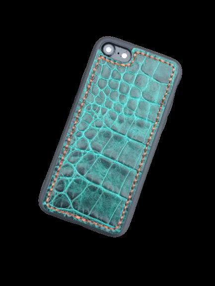 Кожаный чехол-накладка «Art Color» на iPhone