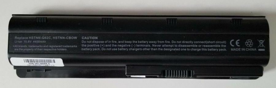 Аккумулятор HP CQ42/CQ62/DM4/G62/G72/... (HSTNN-Q62C/MU06/...) (10,8V/4400 mAh) Оригинал