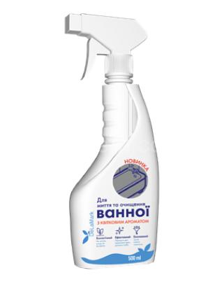 Средство для мытья ванной комнаты с ароматом цветов DeLaMark,500 мл
