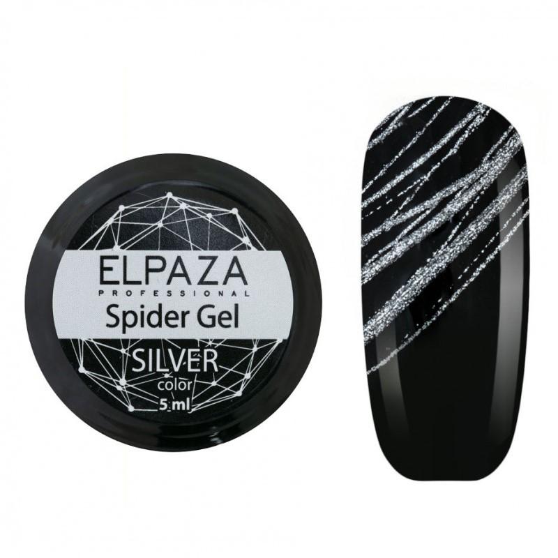 Гель паутинка ELPAZA Spider Gel 5 г. серебро