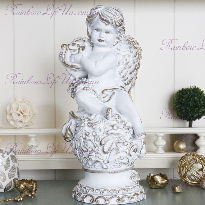 Статуэтка 34 см Ангел с арфой