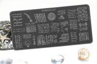 Стемпинг плитка высшее качество  STARLET-107