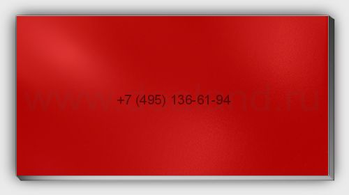 Лист алюм. 2х1500х3000 RAL3020 Красный