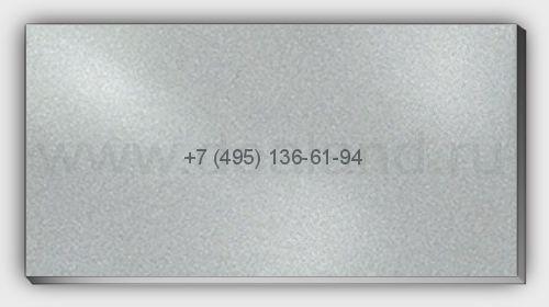 Лист алюм. 2х1500х3000 RAL9023 Серебро Искристое