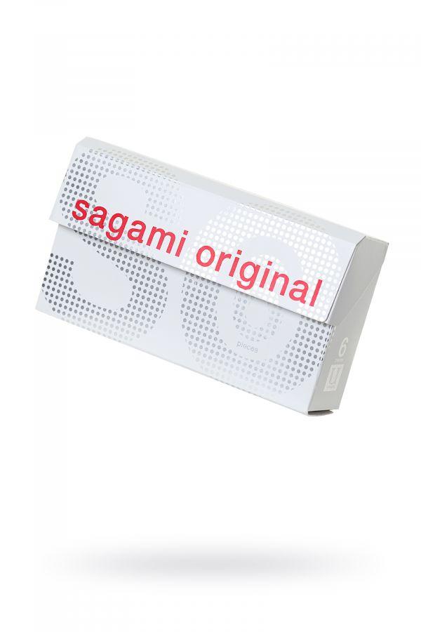 Презервативы Sagami Original 0.02  УЛЬТРАТОНКИЕ,гладкие 6 шт.