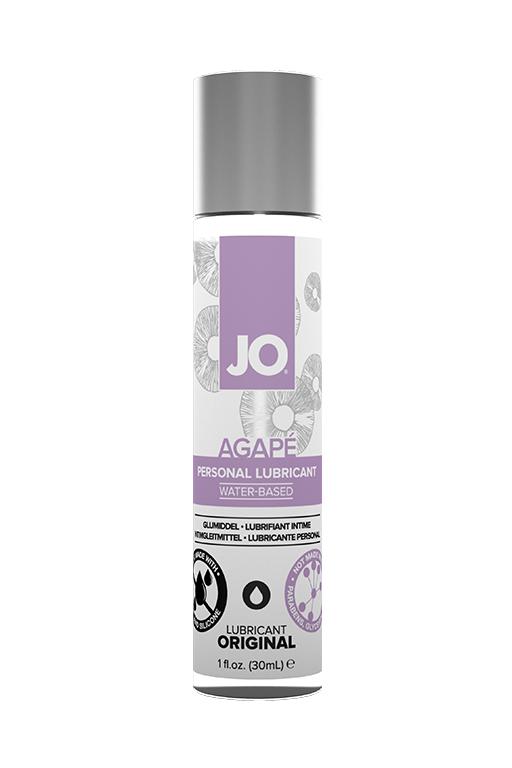 Легкий гипоаллергенный лубрикант / JO Agape 1 oz - 30 мл.