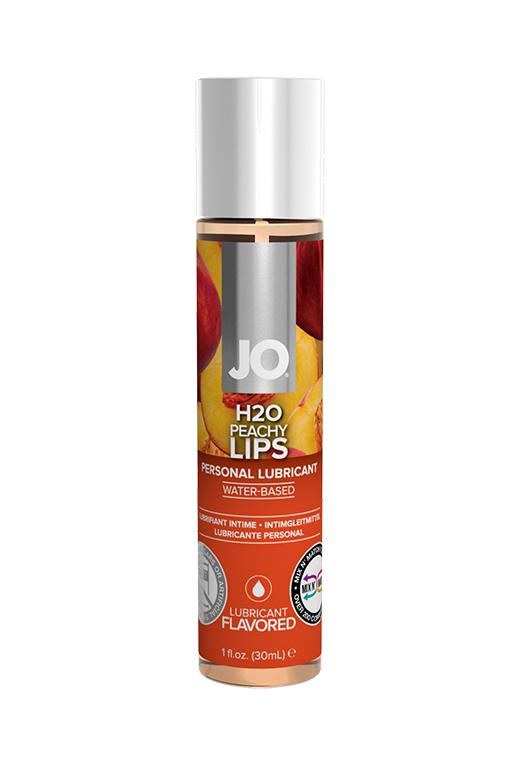 "Вкусовой лубрикант ""Сочный персик"" / JO Flavored Peachy Lips 1oz - 30 мл."