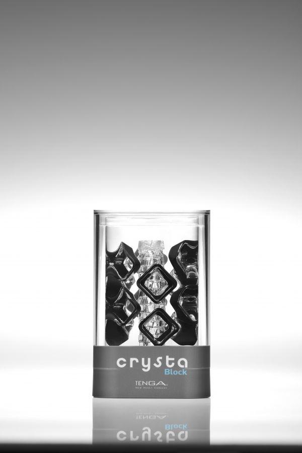 TENGA Crysta Мастурбатор Block