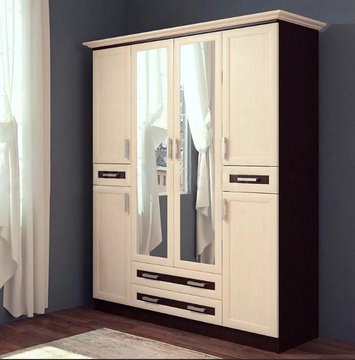 Шкаф 4-х створчатый Грация