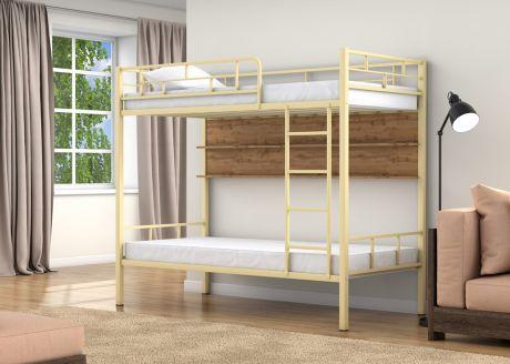 Двухъярусная кровать Валенсия Слоновая кость полка