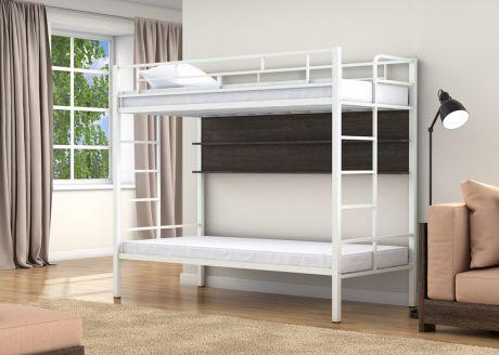 Двухъярусная кровать Валенсия Твист Белый полка
