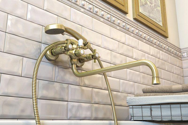 Смеситель для ванны Elghansa Praktic 2702660-Bronze