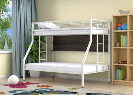 Двухъярусная кровать Милан Белый полка