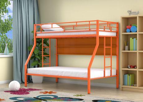 Двухъярусная кровать Милан Оранжевый полка