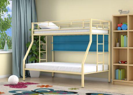Двухъярусная кровать Милан Слоновая кость полка