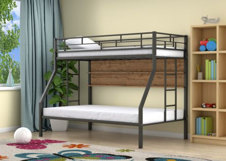Двухъярусная кровать Милан Черный полка