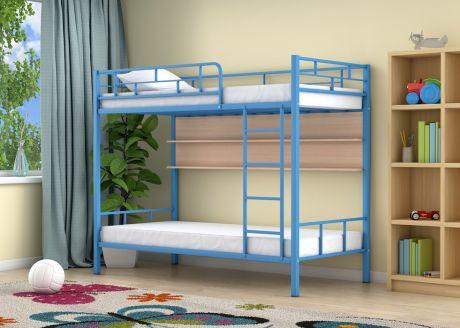 Двухъярусная кровать Ницца Голубой полка