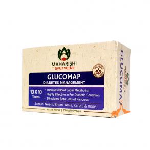 Глюкомап («Glucomap» Maharishi Ayurveda) антидиабетик 100 таб.