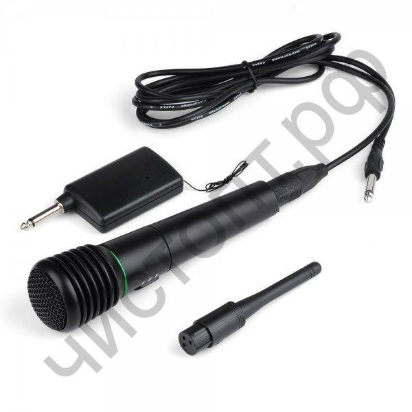 Микрофон караоке беспровод. Weisre WM-308