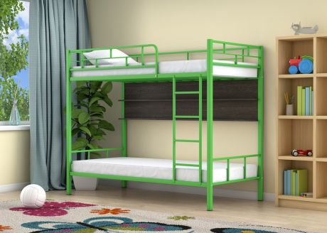 Двухъярусная кровать Ницца Зеленый полка